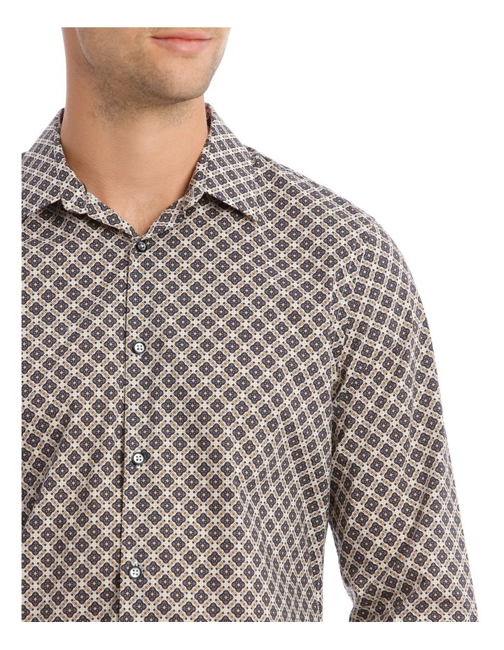 Lennie Geometric Slim Long-Sleeve Shirt image 4