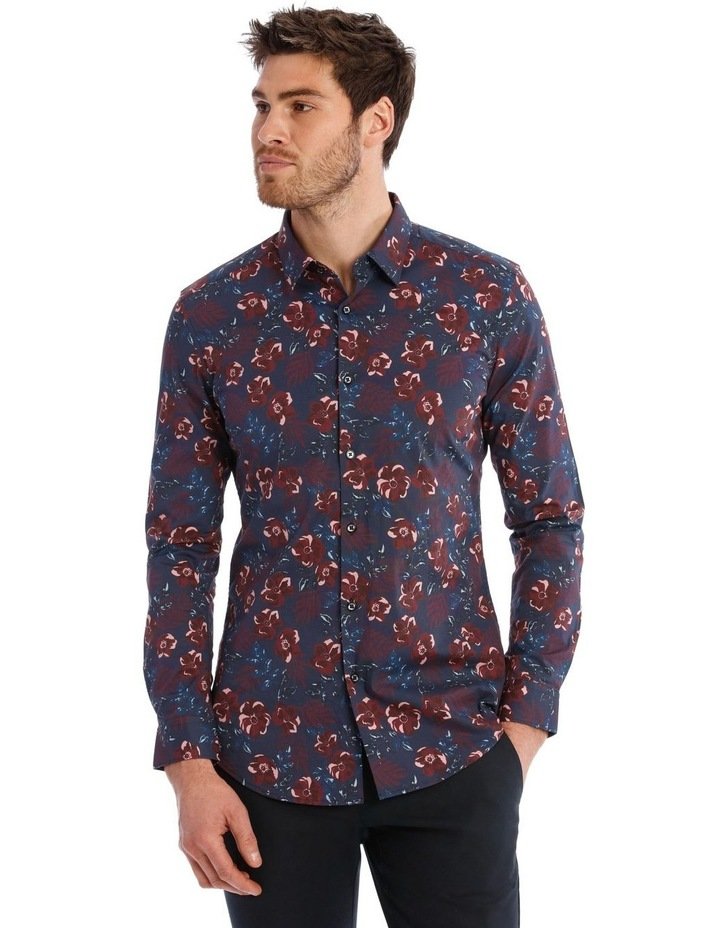 Slim Henry Floral Long Sleeve Shirt image 1