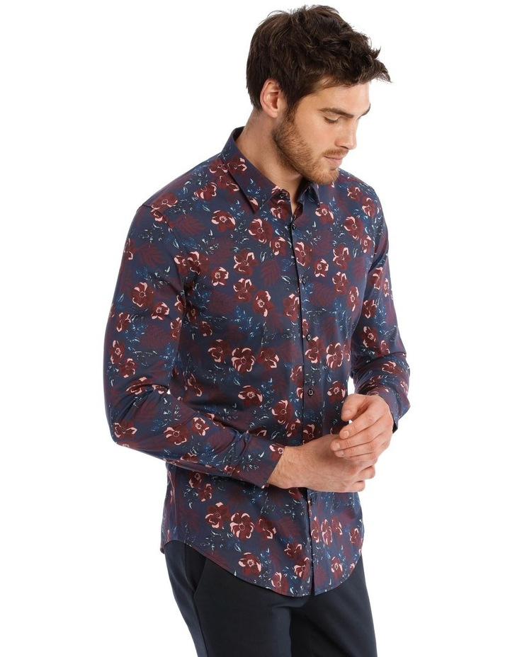 Slim Henry Floral Long Sleeve Shirt image 2
