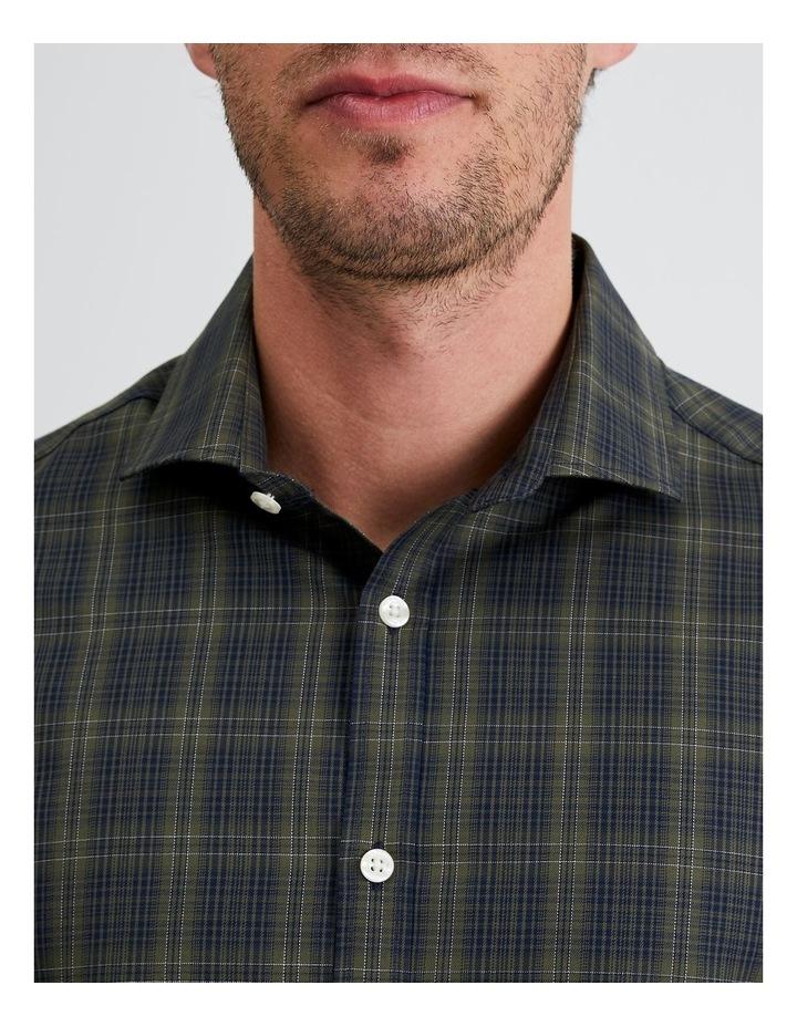 Bordeaux Check Shirt in Sage image 6