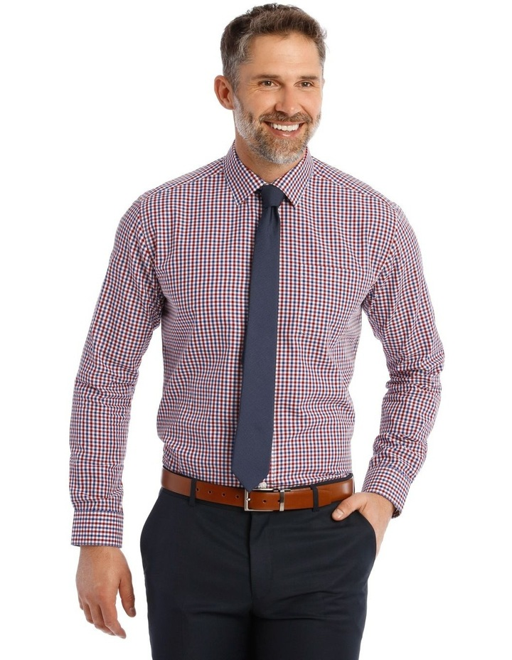 Classic Fit Red and Blue Gingham Shirt image 1