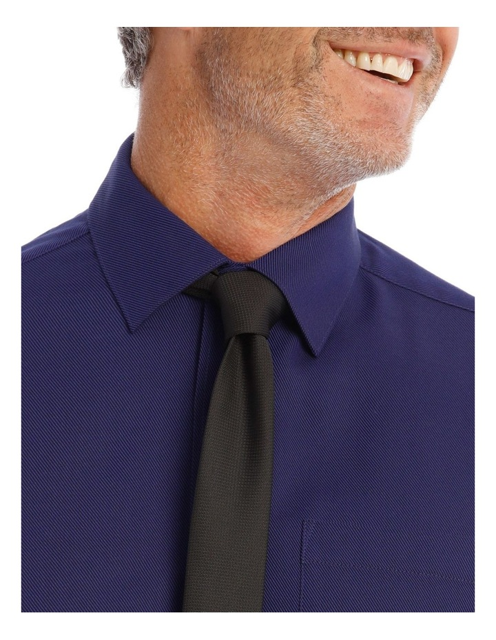 Classic Fit Twill Shirt In Royal image 2