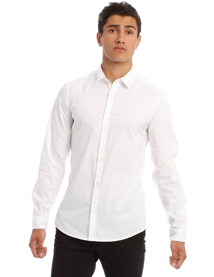 Prince Long-Sleeve Shirt In White image 1