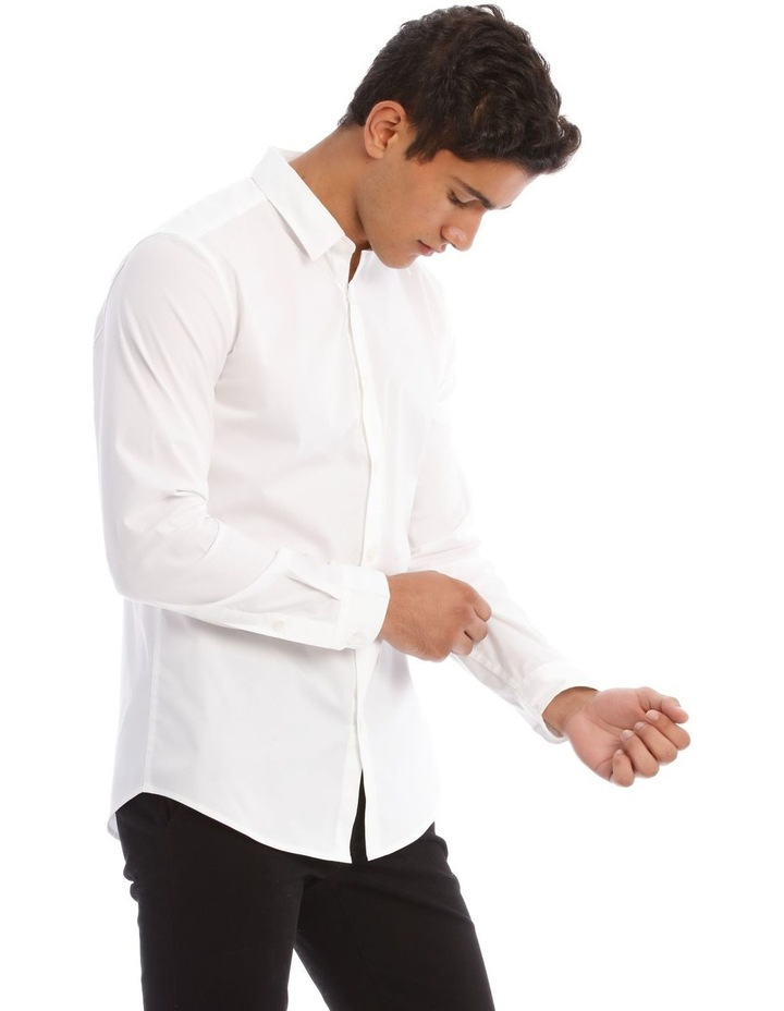Prince Long-Sleeve Shirt In White image 2