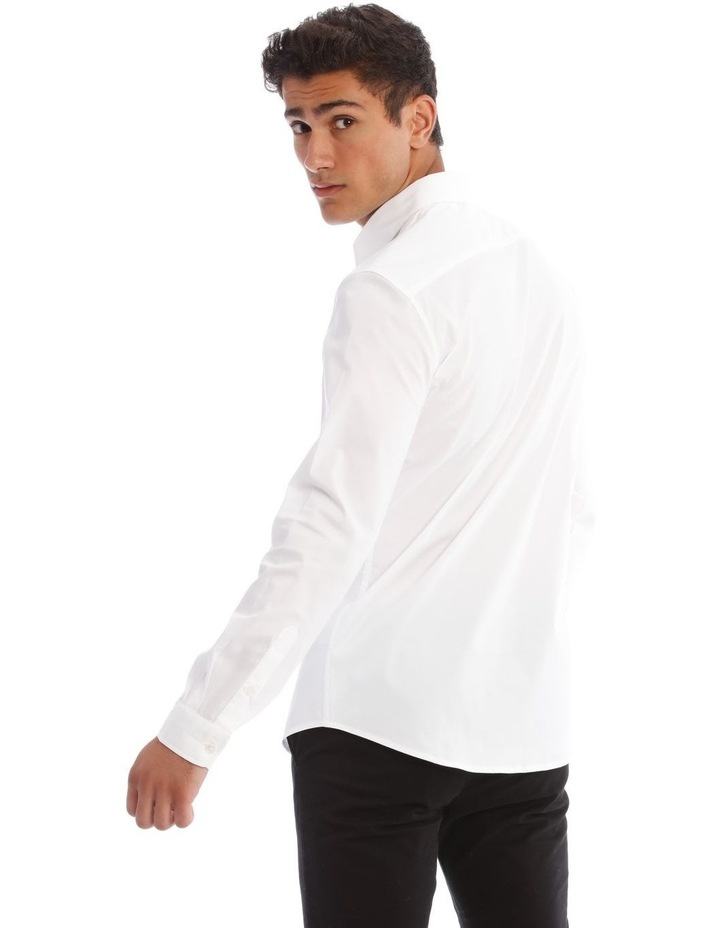 Prince Long-Sleeve Shirt In White image 3