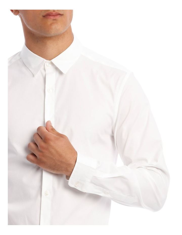 Prince Long-Sleeve Shirt In White image 4