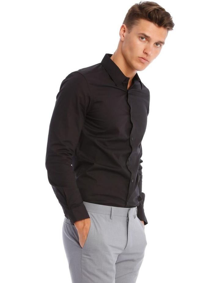 Prince Long-Sleeve Shirt In Black image 2