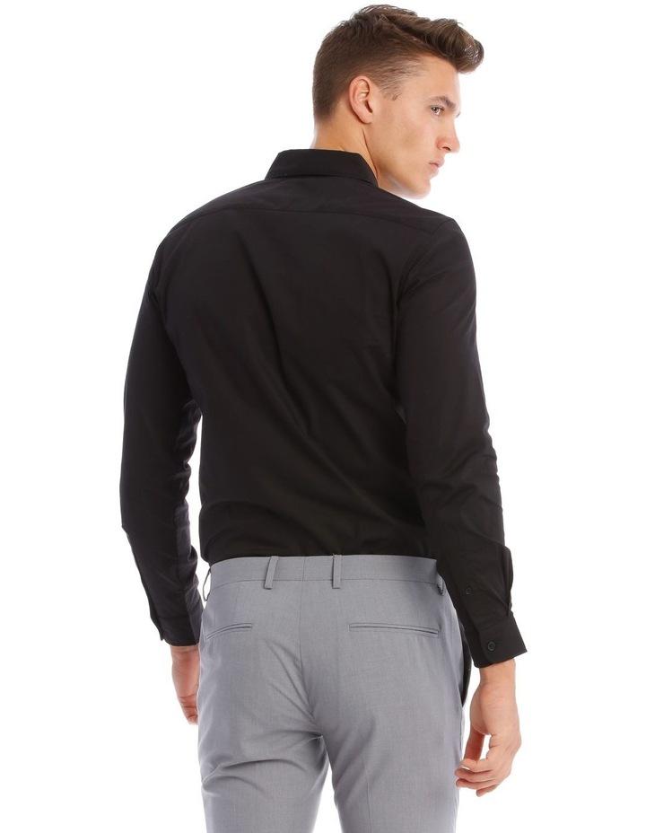 Prince Long-Sleeve Shirt In Black image 3