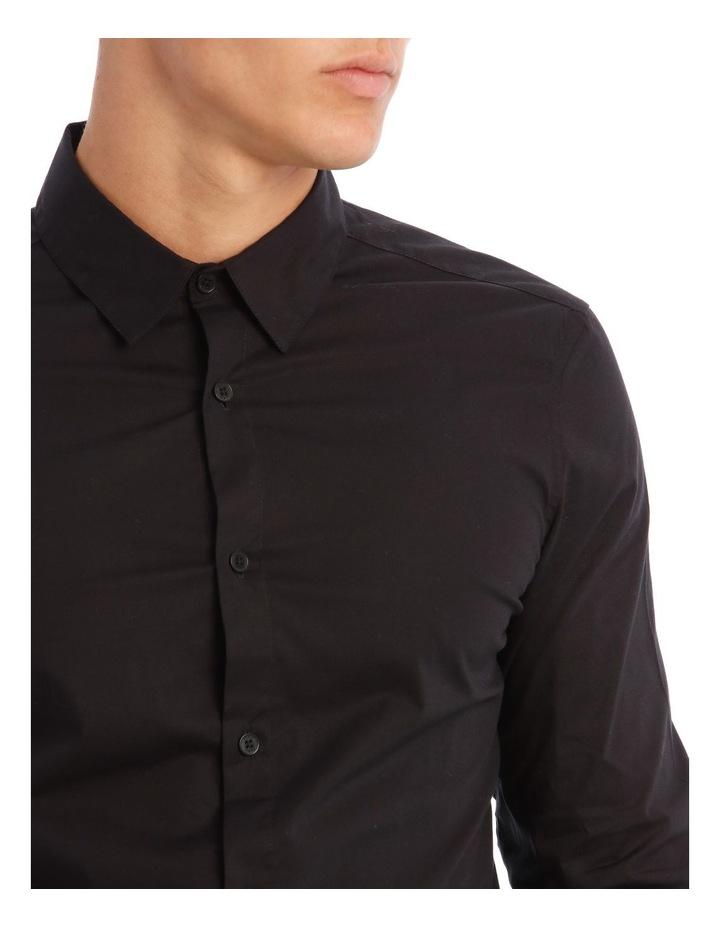 Prince Long-Sleeve Shirt In Black image 4