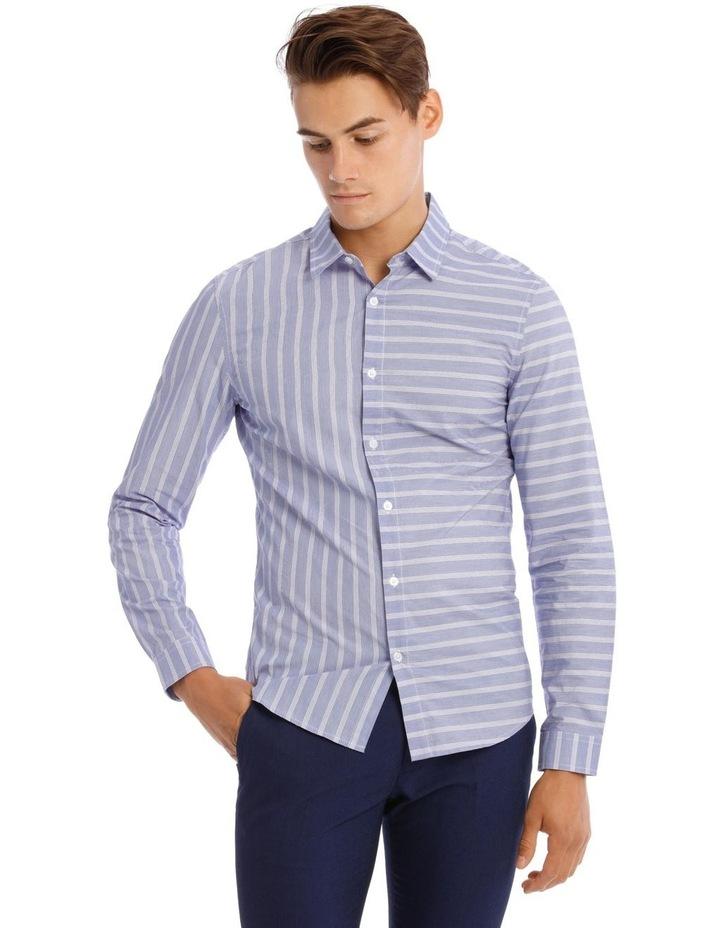 Cosmopolitan Stripe Long Sleeve Shirt image 1