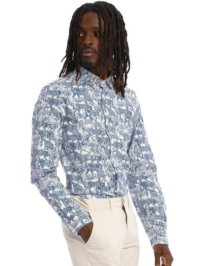 Eureka Print Long Sleeve Shirt image 2