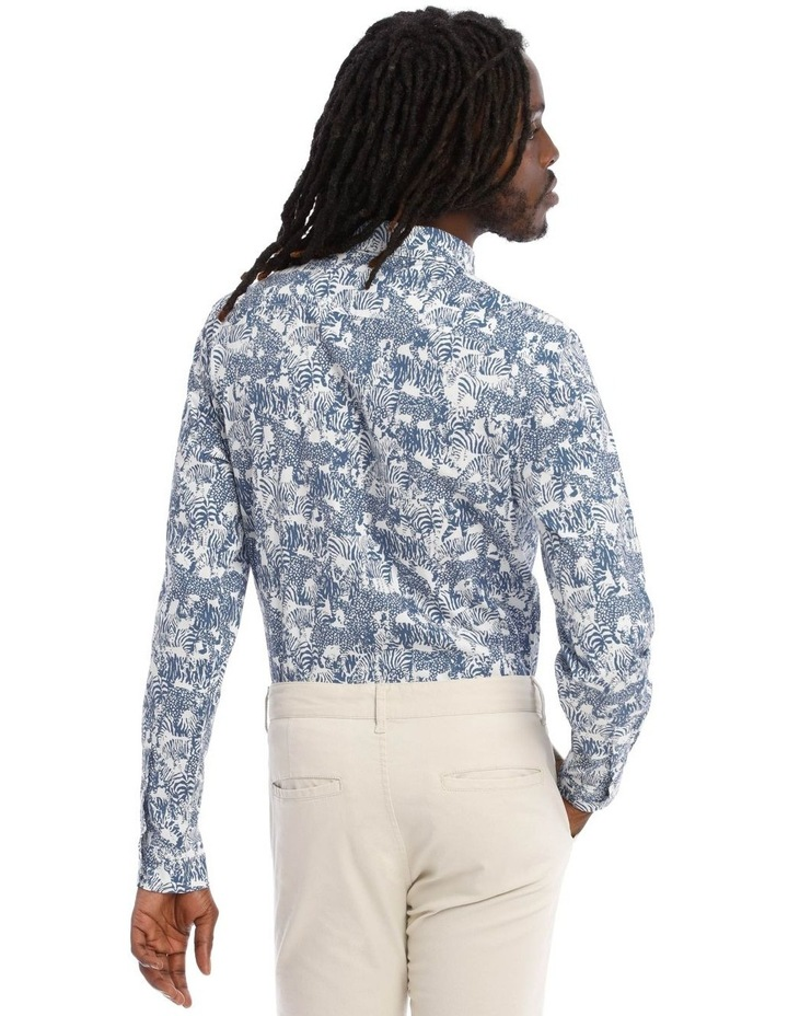 Eureka Print Long Sleeve Shirt image 3