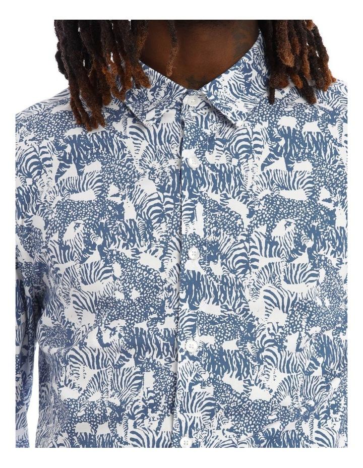 Eureka Print Long Sleeve Shirt image 4