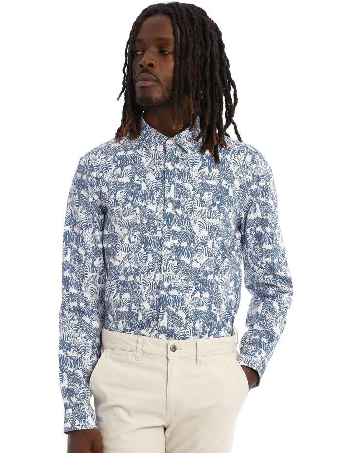 Eureka Print Long Sleeve Shirt image 5