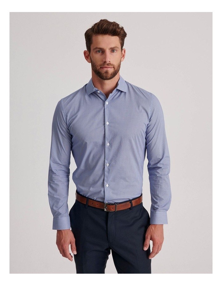 Blue Diamond Geo Business Shirt image 1