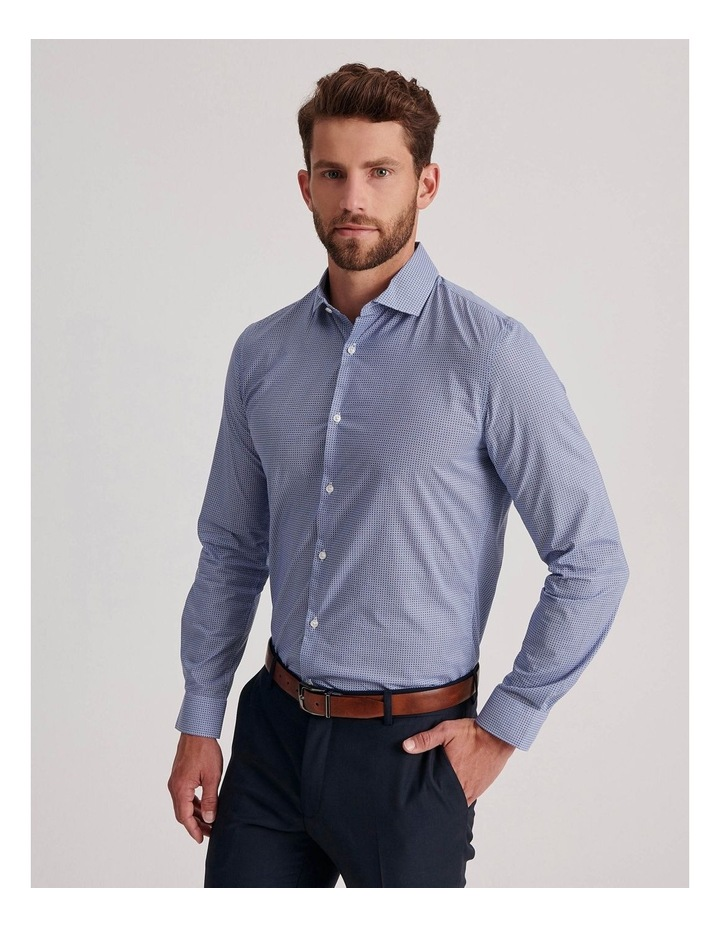 Blue Diamond Geo Business Shirt image 3