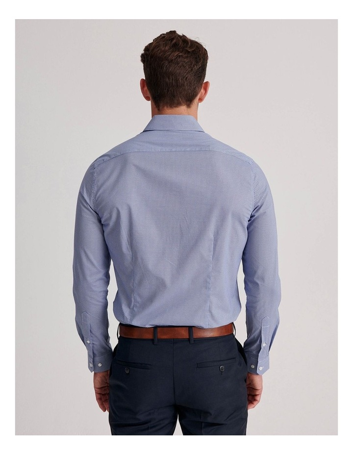 Blue Diamond Geo Business Shirt image 4