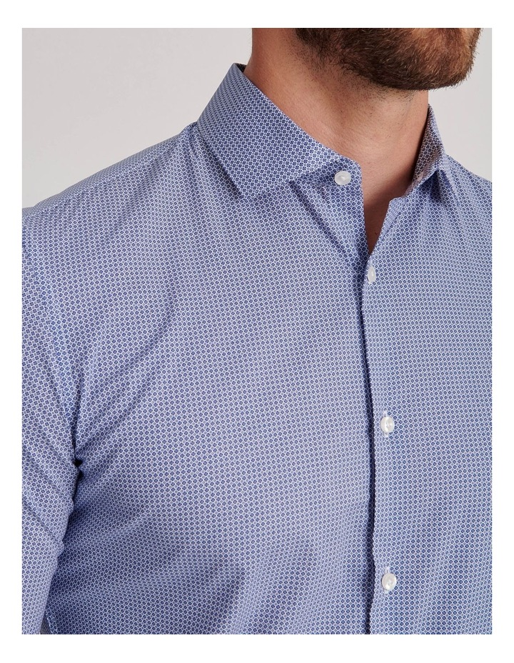 Blue Diamond Geo Business Shirt image 5
