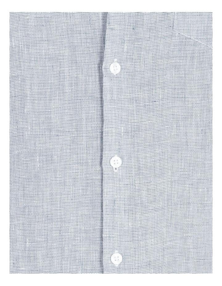 Gad Long-Sleeve Textured Linen Shirt image 5