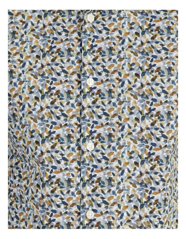 Bentleigh Autumn Leaf Print Long Sleeve Shirt Tan image 6