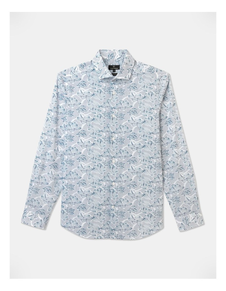 Cecil Classic Floral Long Sleeve Shirt White image 1