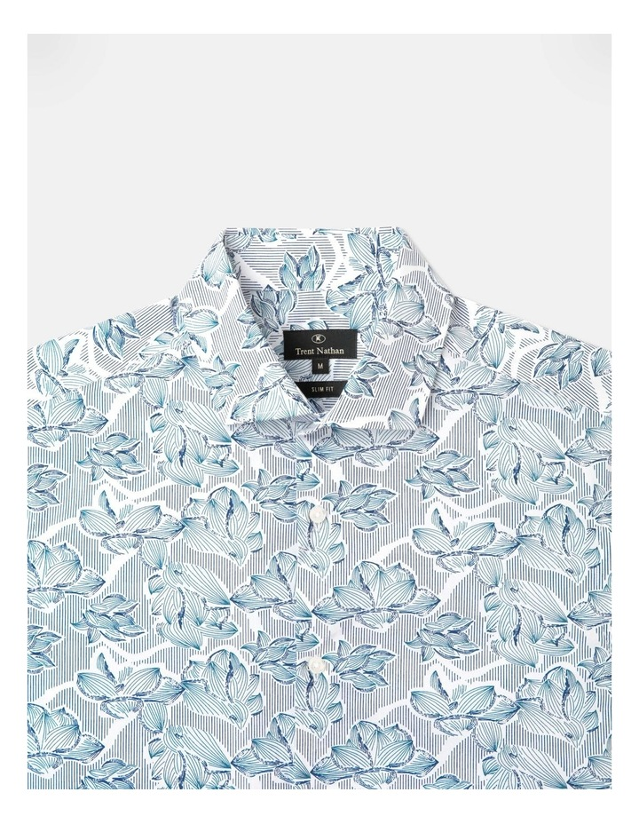 Cecil Classic Floral Long Sleeve Shirt White image 2