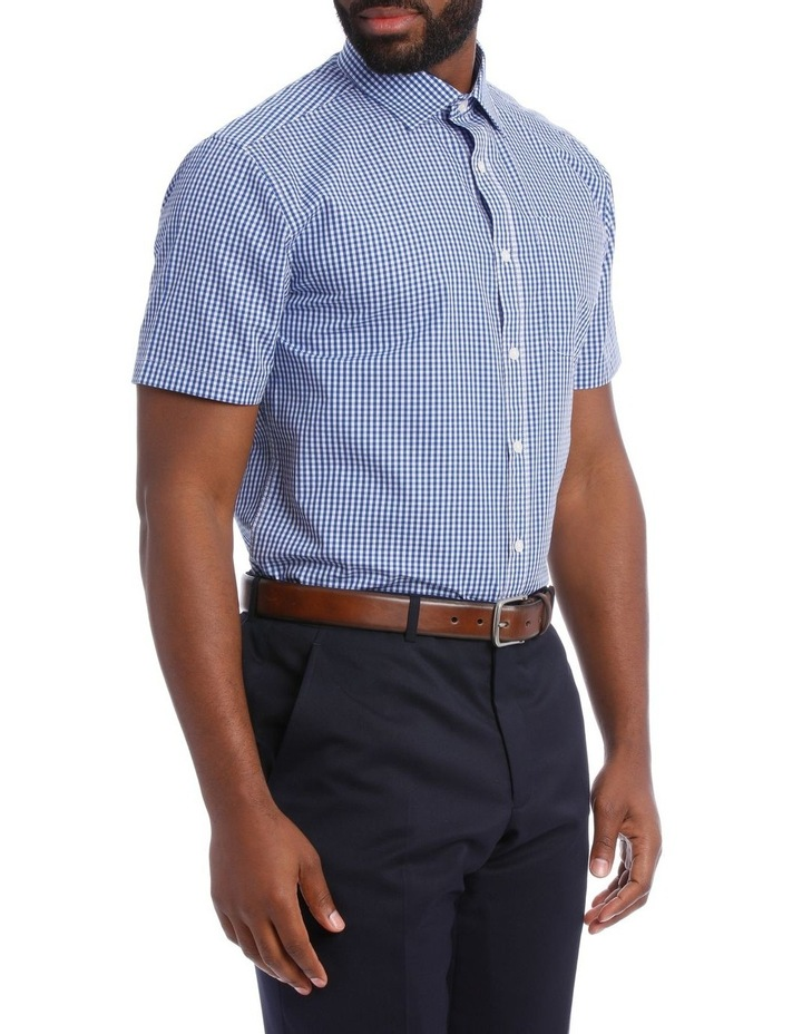Navy and White Gingham Classic Fit image 2