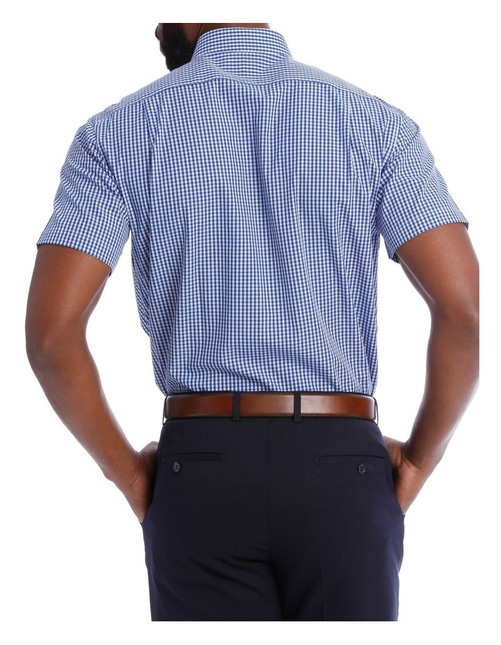 Navy and White Gingham Classic Fit image 3