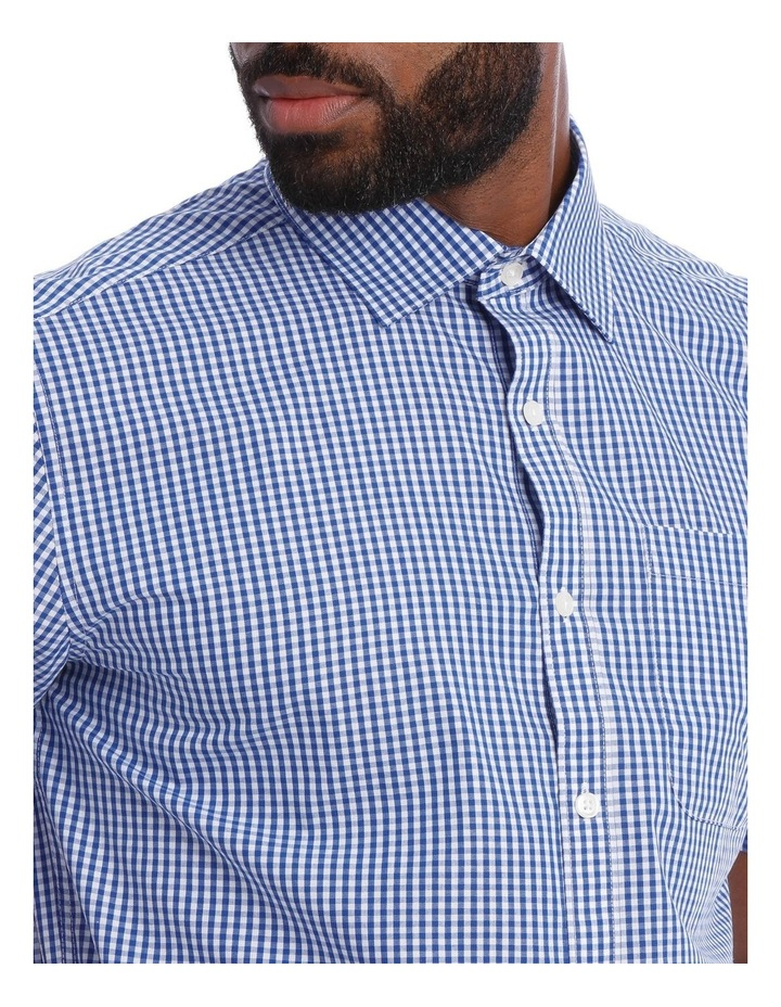 Navy and White Gingham Classic Fit image 4