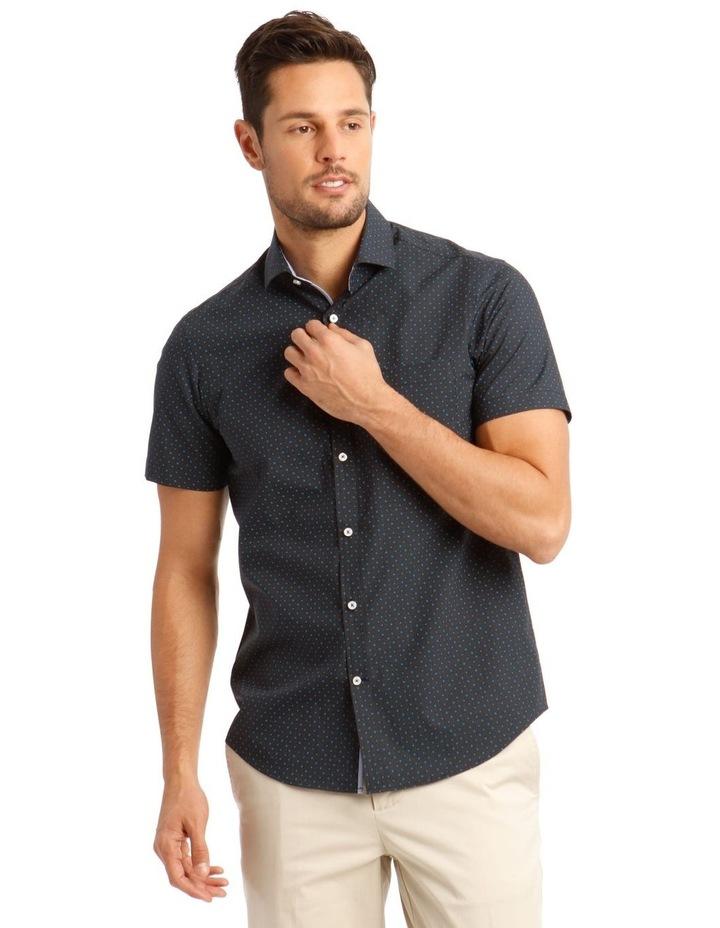 Modena Ditsy Printed Short Sleeve Shirt image 1