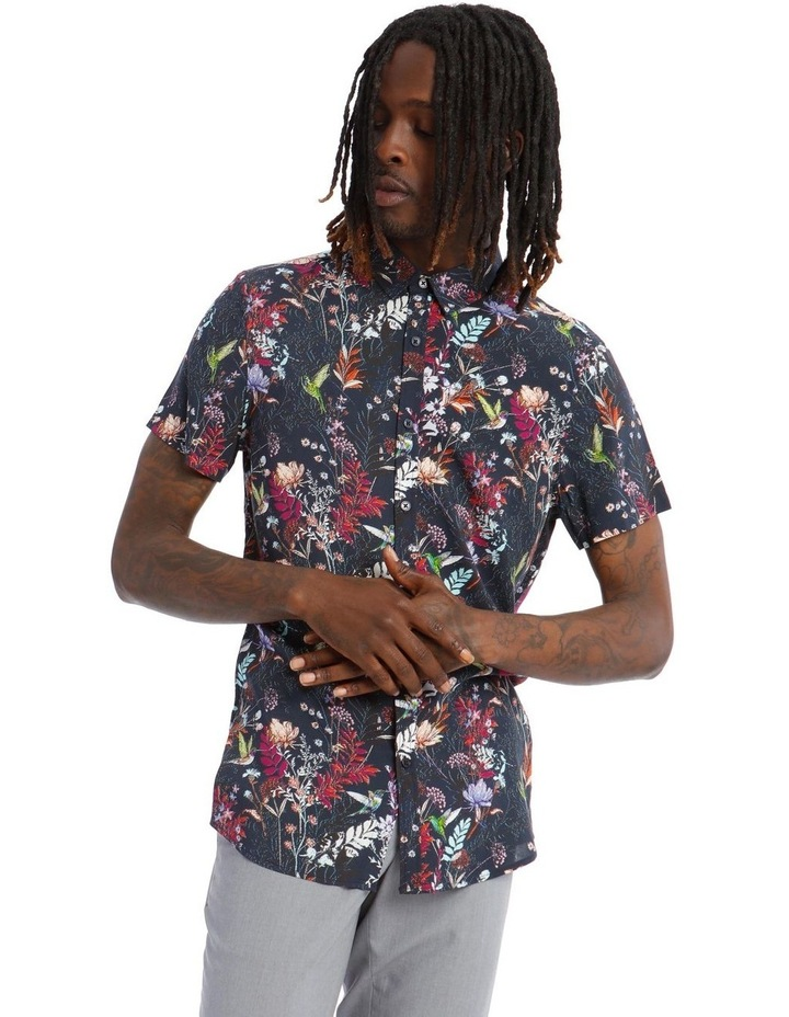 Gardenia Short Sleeve Rayon Shirt image 1