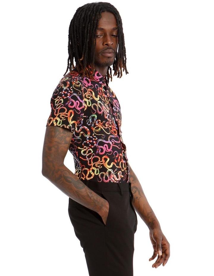 Basilisk Short Sleeve Rayon Shirt image 2