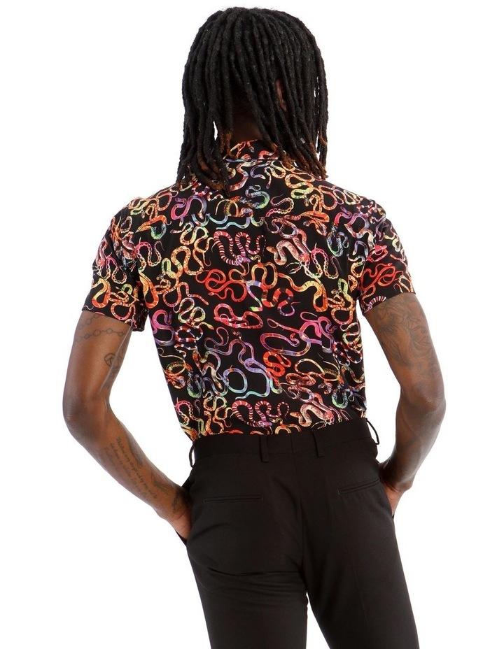 Basilisk Short Sleeve Rayon Shirt image 3