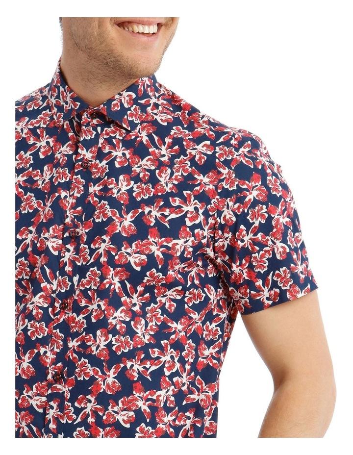 Marlon Printed Short-Sleeve Shirt image 4