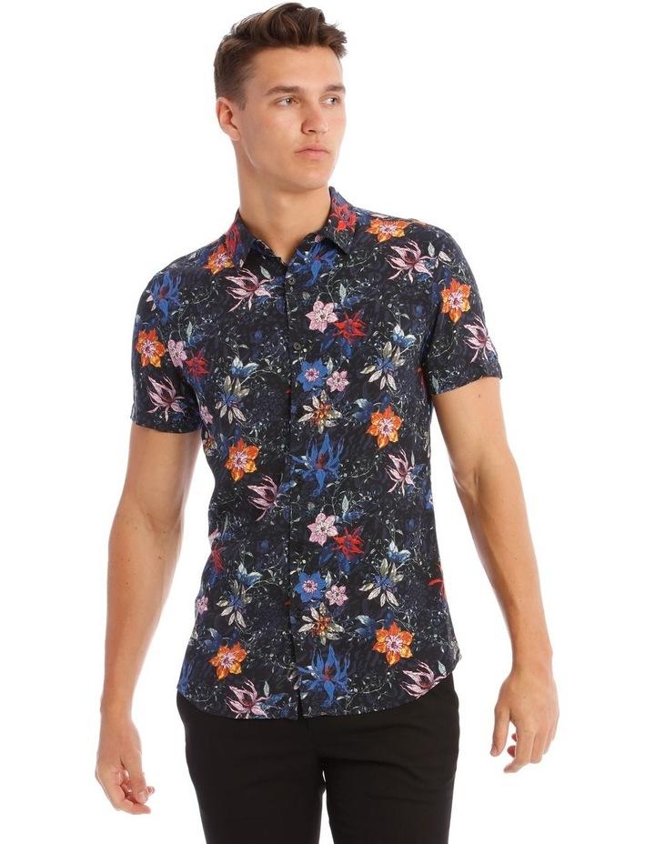 Palms Print Short-Sleeve Shirt image 1
