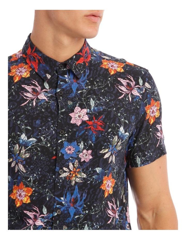 Palms Print Short-Sleeve Shirt image 4