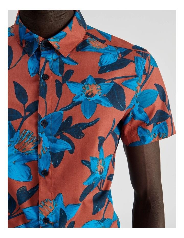 Empire Rose Floral Print Short Sleeve Shirt image 6