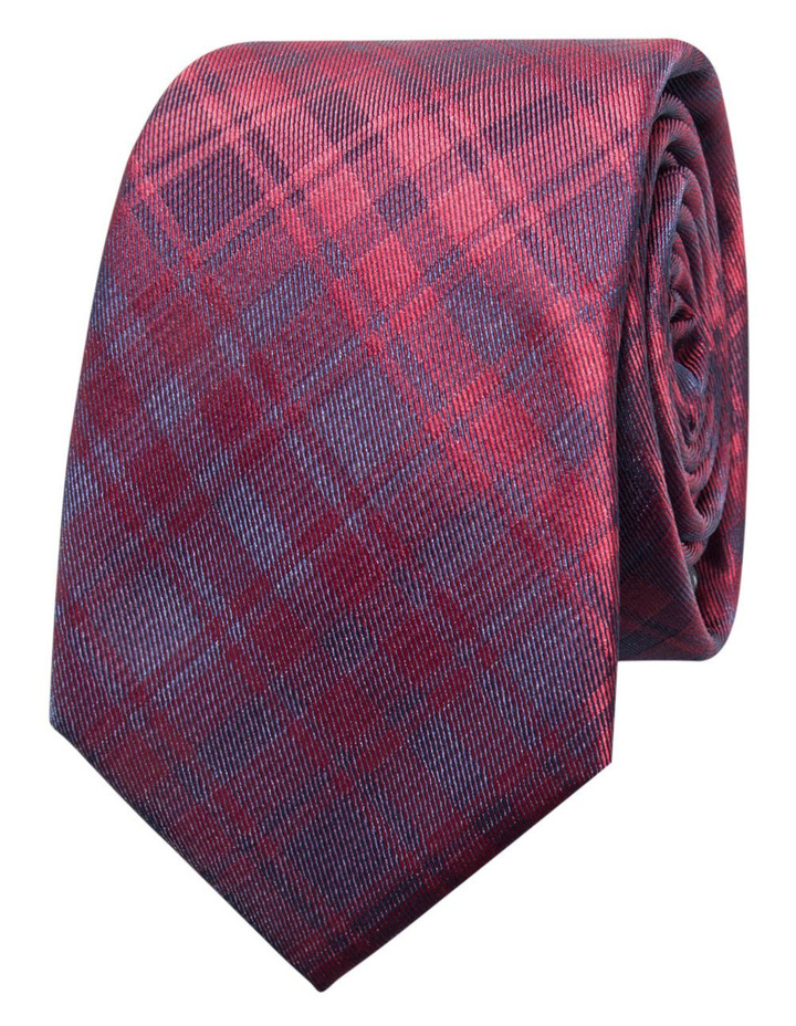 Check Red Tie BLPTW18114 image 1