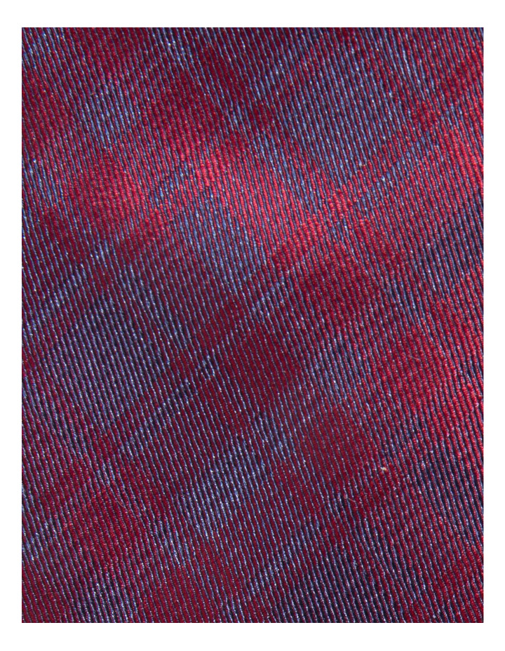 Check Red Tie BLPTW18114 image 3