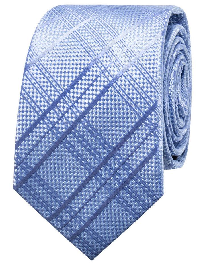 Check Blue Tie BLSTW18109 image 1