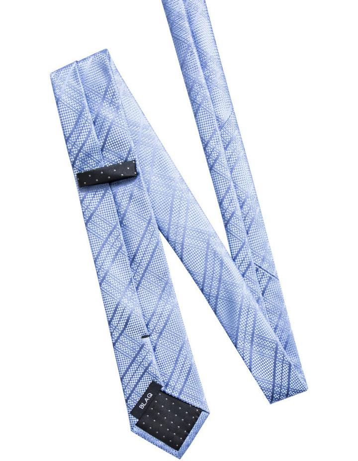 Check Blue Tie BLSTW18109 image 2