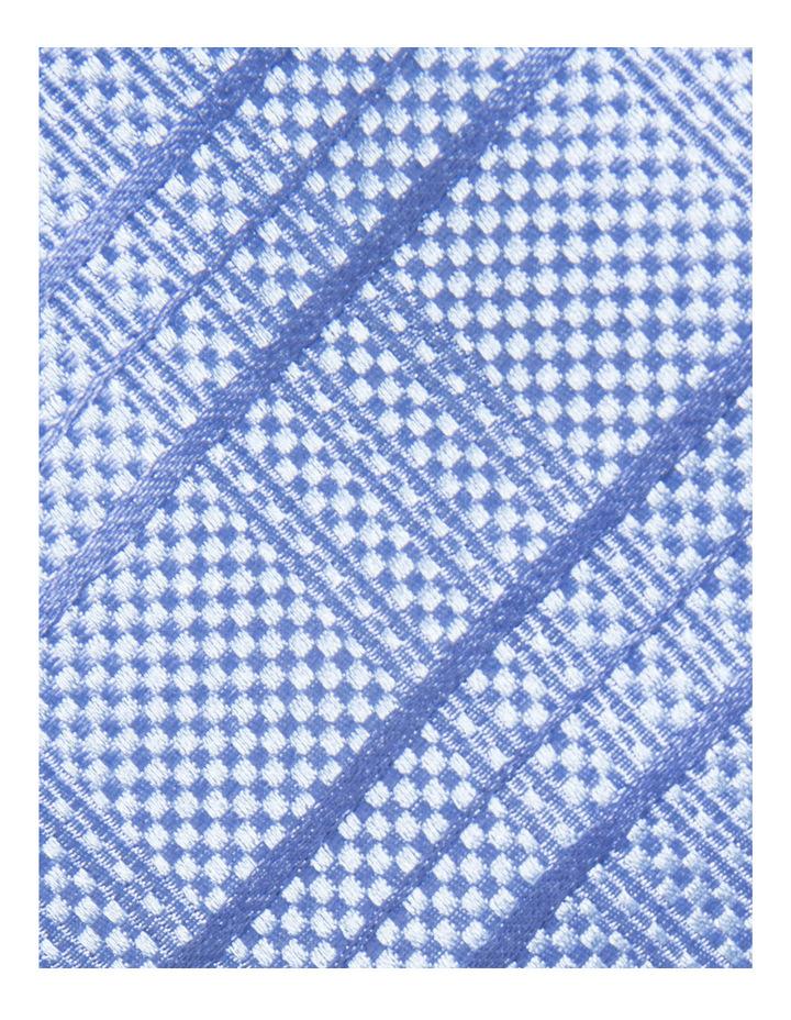 Check Blue Tie BLSTW18109 image 3