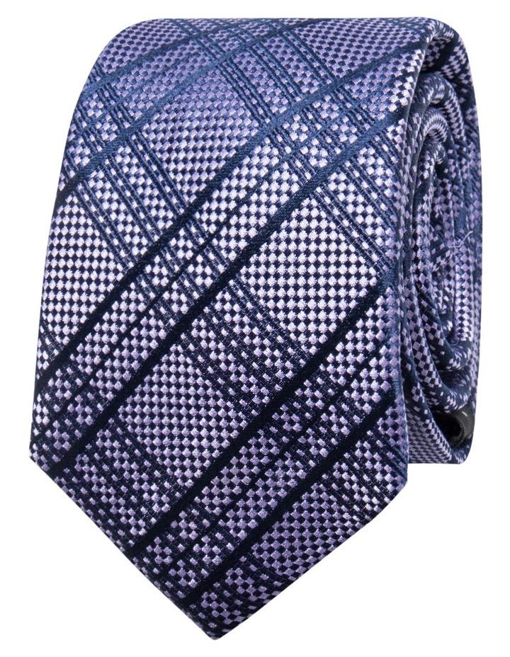 Check Purple Tie BLSTW18109 image 1
