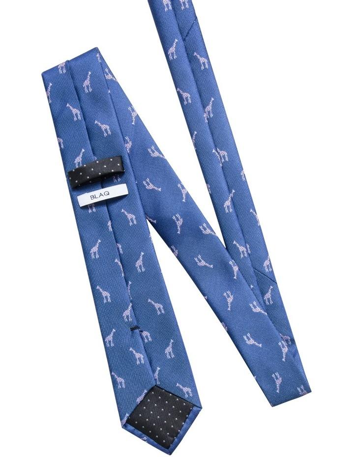 Giraffe Mid Blue Tie BLPTW18219 image 2