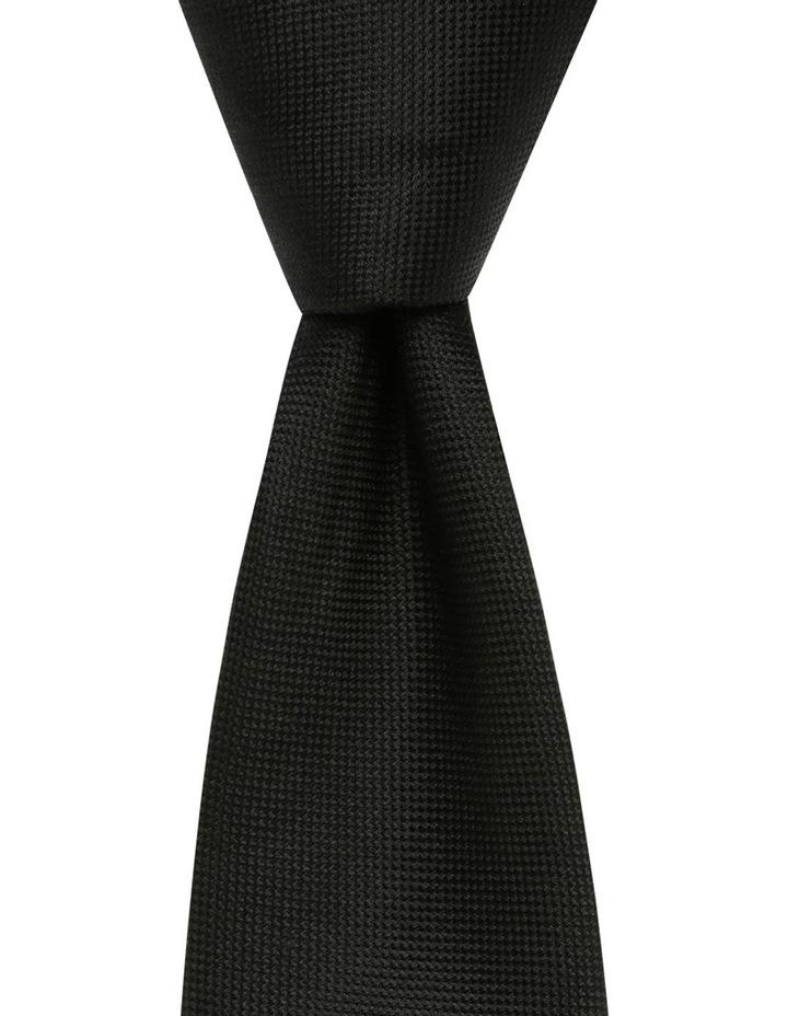 Core Silk Tie Black Blsts18901 image 1