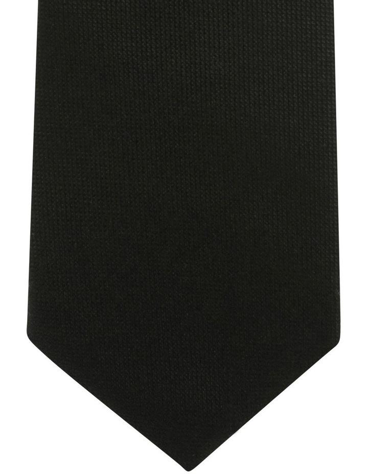 Core Silk Tie Black Blsts18901 image 2