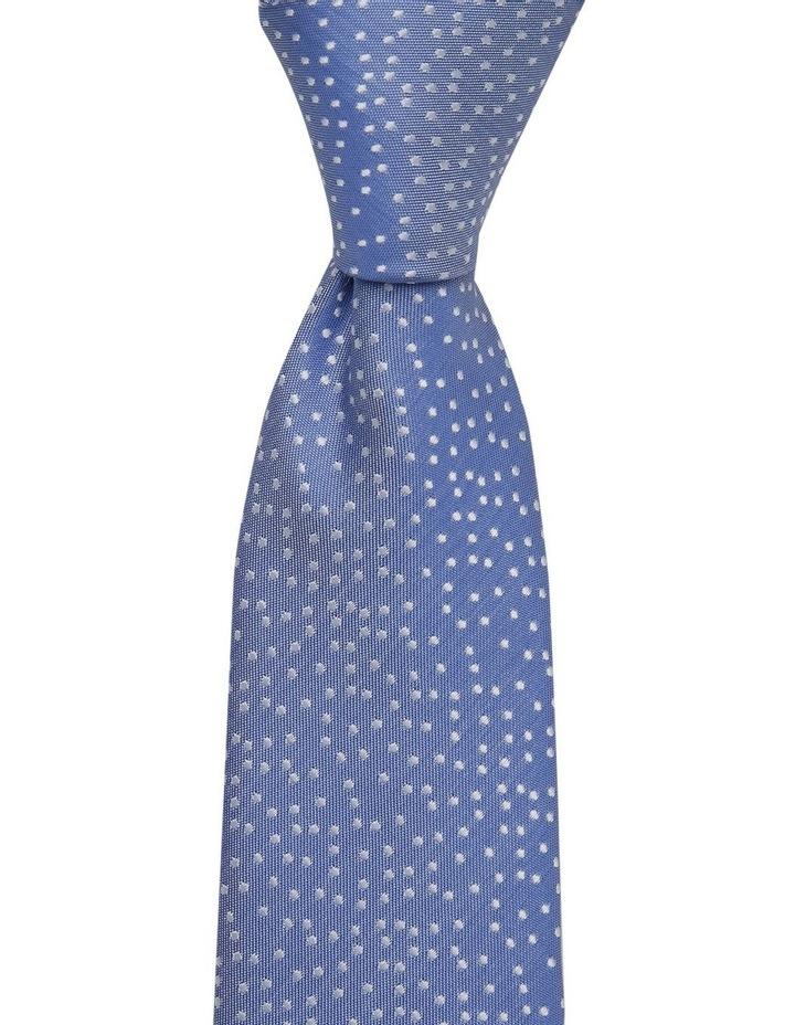 Blue Random Dot Tie Royal image 2