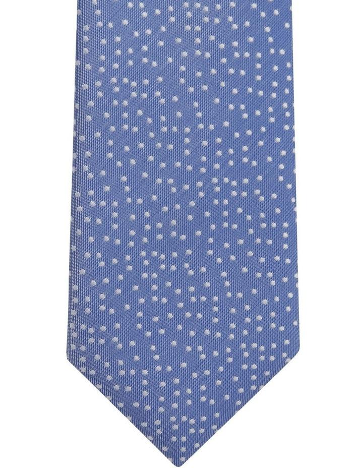 Blue Random Dot Tie Royal image 4