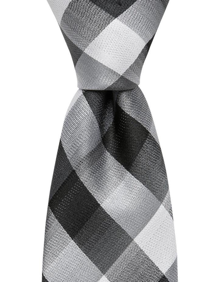 Check Tie Black image 1