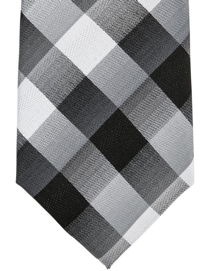 Check Tie Black image 2